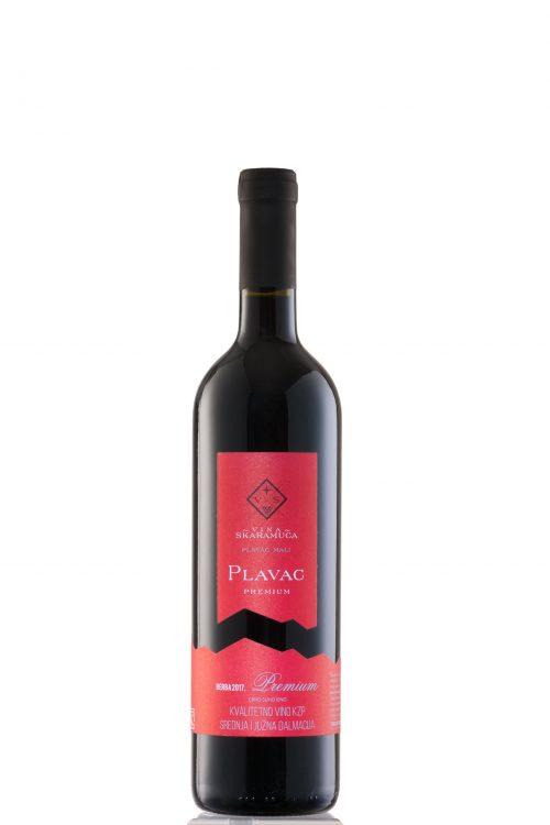 Plavac Premium kvalitetno vino skaramuca