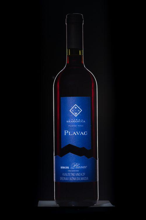 Plavac kvalitetno vino skaramuca