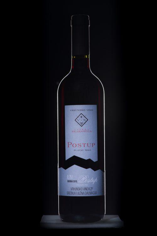 Postup Vrhunsko vino dingac skaramuca