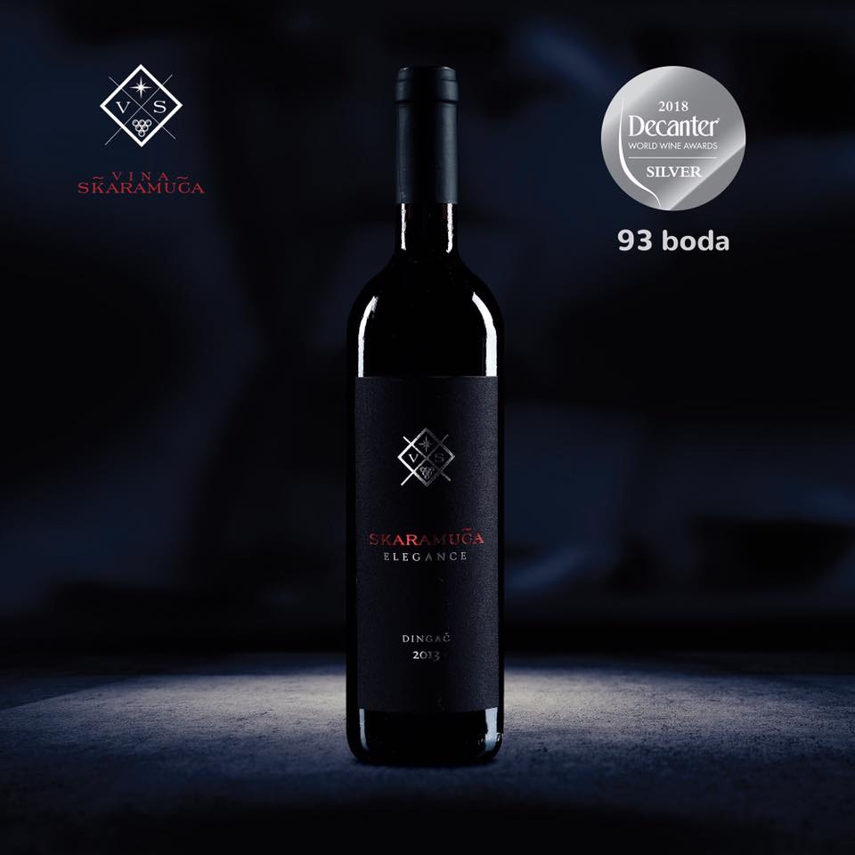 Decanter World Wide Award – Dingač Elegance osvojio srebrnu medalju