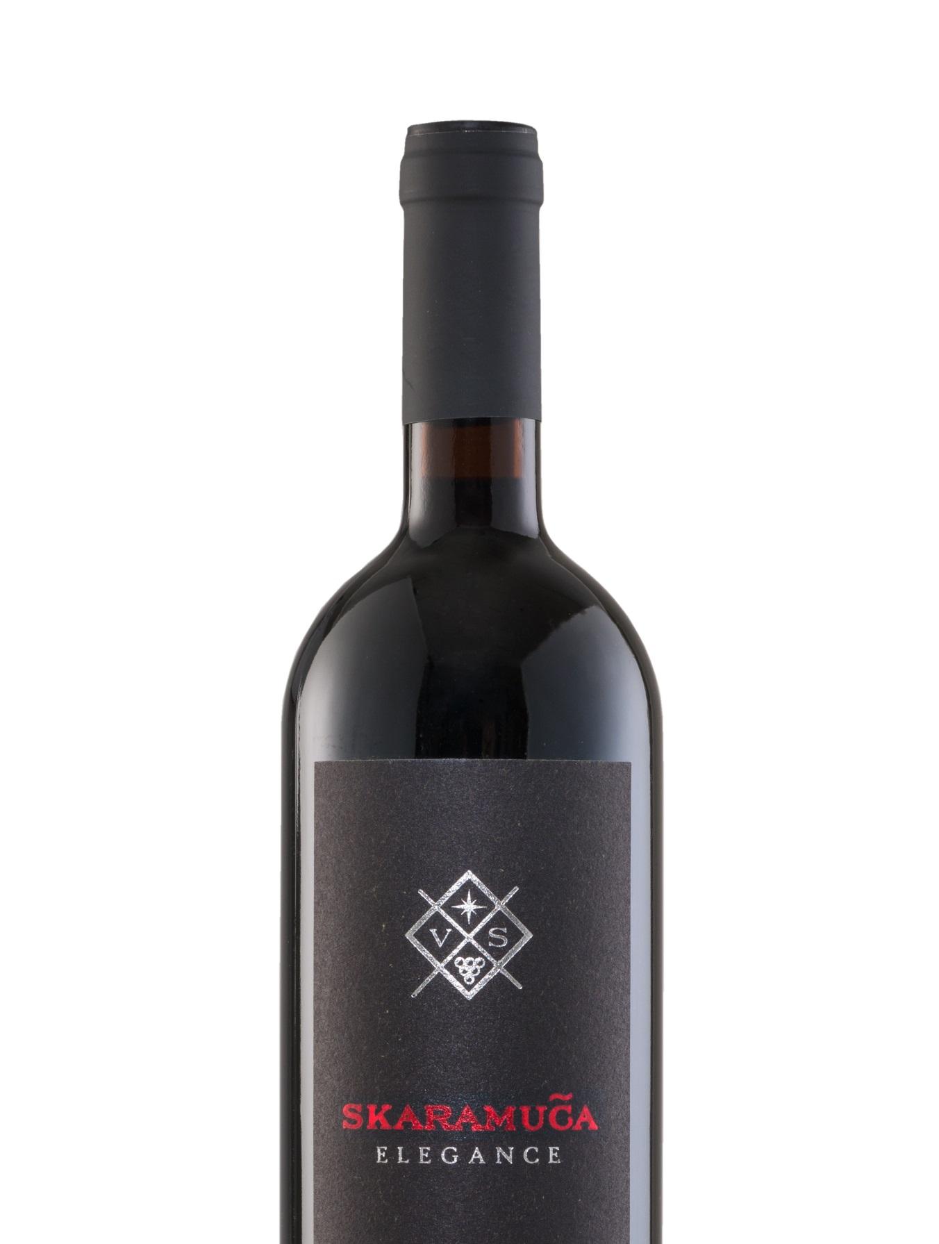 Plavac Mali Elegance vino skaramuca